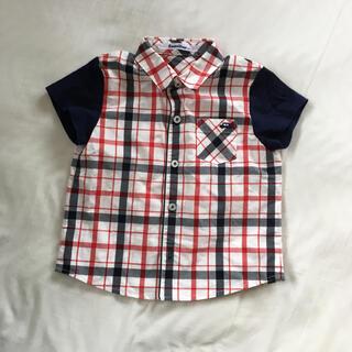 familiar - 美品⭐︎ファミリア100半袖シャツ
