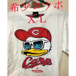 広島東洋カープ - 最終値引き Tシャツ(XL) 広島カープ DUCK DUDEコラボ