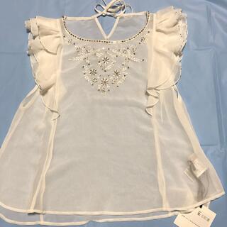 ココディール(COCO DEAL)のココデール   刺繍ブラウス  新品、未使用(シャツ/ブラウス(半袖/袖なし))