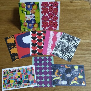 マリメッコ(marimekko)のmarimekkoポストカード10枚セット(その他)