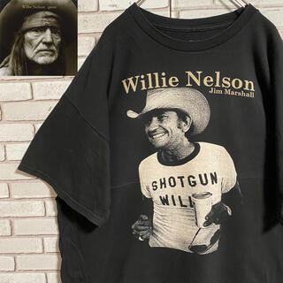 90s 古着 ウィリーネルソン バンドT 2XL ビッグシルエット ゆるだぼ(Tシャツ/カットソー(半袖/袖なし))