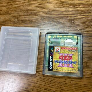 コナミ(KONAMI)の遊戯王デュエルモンスターズ ゲームボーイカラー(携帯用ゲームソフト)