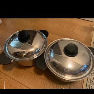 ビタクラフト(Vita Craft)のビタクラフト 8764 両手鍋 2つセット(鍋/フライパン)
