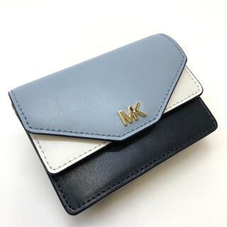 Michael Kors - 【未使用】マイケルコース カードケース レザー ブラック×ブルー