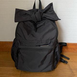 ブランシェス(Branshes)のブランシェス  リボン リュック ブラック 鞄(リュックサック)