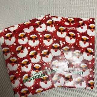 ヒステリックミニ(HYSTERIC MINI)のヒステリックミニ クリスマスバージョン ショッパー(ショップ袋)