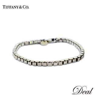 ティファニー(Tiffany & Co.)のティファニー ベネチアンブレスレット Mサイズ SV925 男女兼用(ブレスレット)