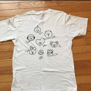 ボウダンショウネンダン(防弾少年団(BTS))のユニクロ bt21 tシャツ UNIQLO(Tシャツ/カットソー(半袖/袖なし))