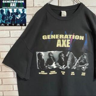 90s 古着 ジェネレーションアックス バンドTシャツ 2XL ビッグシルエット(Tシャツ/カットソー(半袖/袖なし))