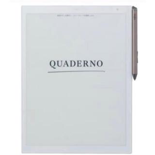フジツウ(富士通)の電子ペーパーQUADERNO FMV-DPP03 A4サイズ(タブレット)