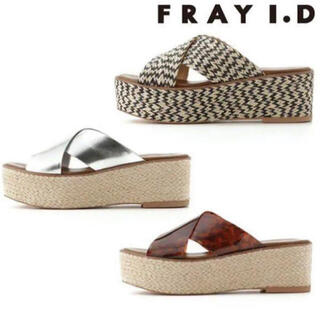 フレイアイディー(FRAY I.D)のフレイアイディー FRAY ID ジュード クロス サンダル(サンダル)