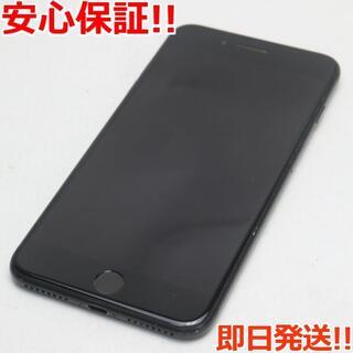 アイフォーン(iPhone)の中古 SIMフリー iPhone7 PLUS 256GB ブラック(スマートフォン本体)