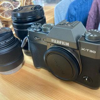 富士フイルム - FUJIFILM X-T30 ボディ XF18-55mm  XC35mm