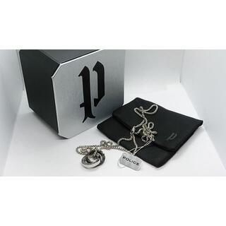 ポリス(POLICE)のPOLICE ポリス サークル ダブルリング ネックレス OTEMANU(ネックレス)