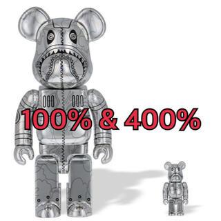 メディコムトイ(MEDICOM TOY)のBAPE SORAYAMA BE@RBRICK 100%  400%(その他)