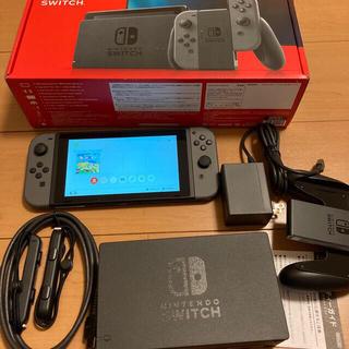 ニンテンドースイッチ(Nintendo Switch)のNintendo Switch JOY-CON(L)(R)本体セット中古 動作品(携帯用ゲーム機本体)