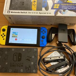 ニンテンドースイッチ(Nintendo Switch)のMAMA71様専用Switch フォートナイト Specialセット 動作品(家庭用ゲーム機本体)