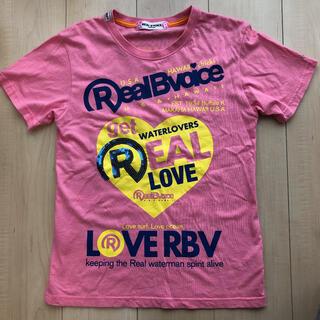 リアルビーボイス(RealBvoice)のリアルビーボイス レディースTシャツ(Tシャツ(半袖/袖なし))