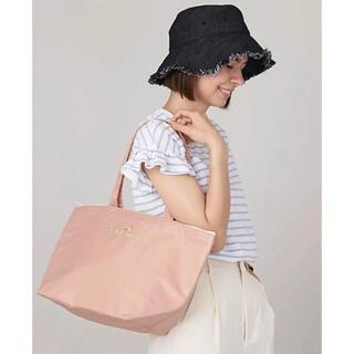 プティマイン(petit main)の新品 プティマイン petitmain  保冷バッグ さくらんぼ柄 ピンク(エコバッグ)