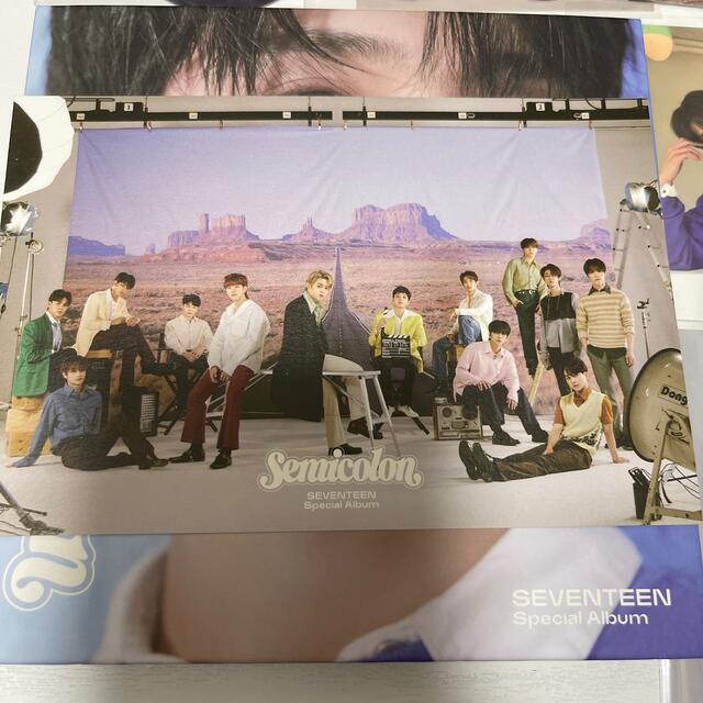 SEVENTEEN(セブンティーン)のジョシュア トレカセット エンタメ/ホビーのタレントグッズ(アイドルグッズ)の商品写真