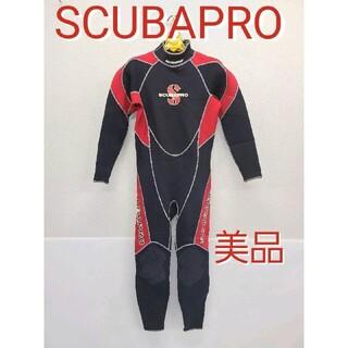 スキューバプロ(SCUBAPRO)の美品 スキューバプロ ウェットスーツ Mフルスーツ ダイビング シュノーケリング(マリン/スイミング)