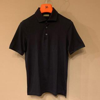 クルチアーニ(Cruciani)のCruciani クルチアーニ ポロシャツ 46 ネイビー(ポロシャツ)