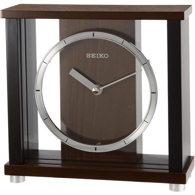 SEIKO(セイコー)のSEIKO 置時計 BZ356B インテリア/住まい/日用品のインテリア小物(置時計)の商品写真