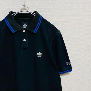 ステューシー(STUSSY)の一点物 ステューシー(Stussy)30周年 記念 ポロシャツ 黒(ポロシャツ)