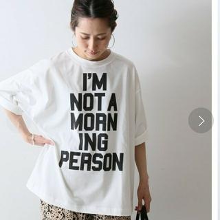 フレームワーク(FRAMeWORK)の新品タグ付き FRAMe WORK フレームワーク BIG ロゴT(Tシャツ(半袖/袖なし))