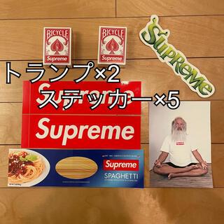 シュプリーム(Supreme)のsupreme ノベルティー×2 & ステッカー×5枚(その他)