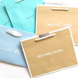 マイケルコース(Michael Kors)のマイケルコース ティファニー ショッパー 紙袋 ショップ袋 封筒(ショップ袋)