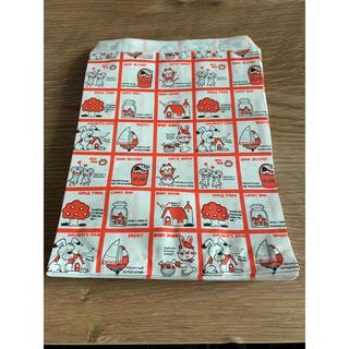 ストップペイル 紙袋 50枚 レトロ (ラッピング/包装)