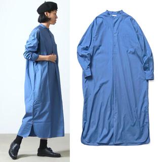 ヤエカ(YAECA)のleno&co band collar pullover dress(ロングワンピース/マキシワンピース)