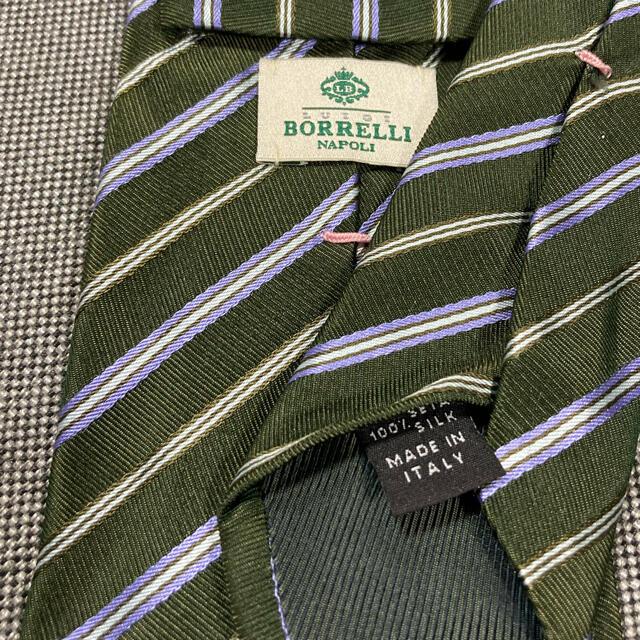 LUIGI BORRELLI(ルイジボレッリ)の【期間限定価格】ルイジボレッリのネクタイ メンズのファッション小物(ネクタイ)の商品写真