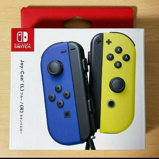 ニンテンドースイッチ(Nintendo Switch)のJoy-Con(L) ブルー/(R) ネオンイエロー ジョイコン(その他)