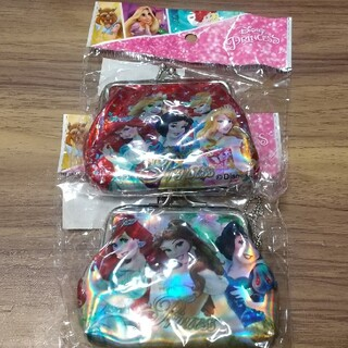 ディズニー(Disney)の2個セット ディズニープリンセス がま口財布(財布)