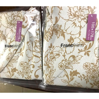 フランフラン(Francfranc)のフランフラン ピオニアカーテン 100✖️178 2枚(カーテン)