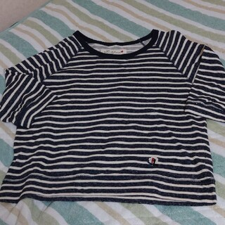 ピンクハウス(PINK HOUSE)のピンクハウス♥♥  pHBULL♥ボーダーTシャツ美品お値引(Tシャツ(長袖/七分))