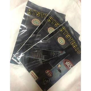 ヒステリックミニ(HYSTERIC MINI)のヒステリックミニ ジップ袋 3枚セット‼️(ショップ袋)