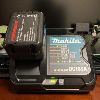 マキタ(Makita)のマキタ充電器 DC10SA、4Aバッテリーセット(バッテリー/充電器)
