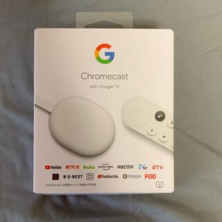 グーグル(Google)のchromecast with google tv(PC周辺機器)