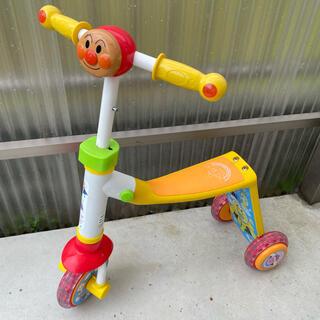 アンパンマン(アンパンマン)のアンパンマン キックボード 三輪車 足けり(三輪車)