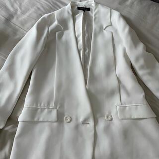 リエンダ(rienda)のテーラードジャケット 白(テーラードジャケット)
