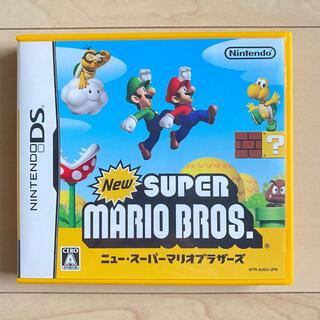 ニンテンドーDS(ニンテンドーDS)の【NintendoDS】ニュースーパーマリオブラザーズ(携帯用ゲームソフト)