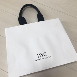 インターナショナルウォッチカンパニー(IWC)のIWC ショッパー ショップ袋(ショップ袋)