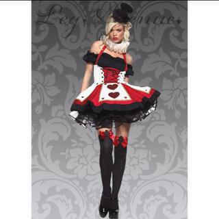 レッグアベニュー(Leg Avenue)の専用 レッグアベニュー ハートの女王 コスプレ ハロウィンに(衣装)