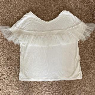 アクアガール(aquagirl)のアクアガール お袖 チュール トップス(カットソー(半袖/袖なし))