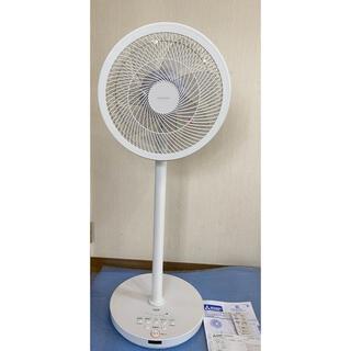 パナソニック(Panasonic)のR30J-DDA-W(ピュアホワイト) 30cmDC扇風機 リモコン付 三菱電機(扇風機)