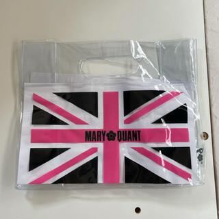 マリークワント(MARY QUANT)の新品未使用 マリークワント ビニールバッグ(エコバッグ)