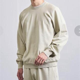 ニューバランス(New Balance)のオーラリー/ニューバランス コットンニット 新品未使用品 サイズL(ニット/セーター)